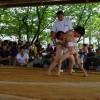 子ども力士、白熱の取り組み(第37回町子ども相撲大会)のサムネイル